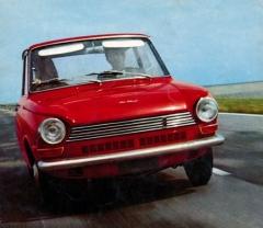 DAF 55, největší typ nizozemské značky se čtyřválcovým motorem Renault 1100 aplynulou převodovkou Variomatic