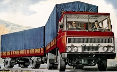 Stylisticky zdařilý DAF F2600 předváděli Nizozemci také vČeskoslovensku, ale k žádné dohodě koncem šedesátých letnedošlo