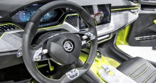 Odtajněno vŽenevě! Interiér nejnovějšího konceptu VISION X – Integrace hlasového ovládání do vozů se službou ŠKODA Connect je vplném proudu