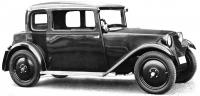 Od září 1932 byla Hadimrška k mání isdvoudveřovou uzavřenou karoserií