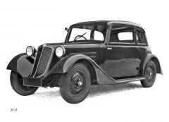 Na jaře 1935 přišla na trh Tatra 57 A snovou přídí aprostornější karoserií