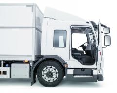 Nízko uložená kabina vozidel Volvo FE.