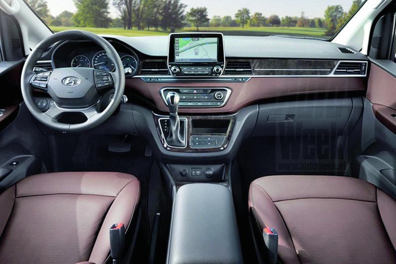 Hyundai poprvé nabízí pro modelovou řadu H-1 sloupek řízení nastavitelný výškově ipodélně. Řidič si tak může nastavit optimální polohu volantu.