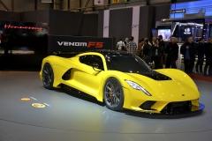 Hennessey Venom F5by měl podle texaských tvůrců dosahovat rychlosti 484km/h; zrychlovat z 0 na 300/400 km/h do 10 s/do 30s!