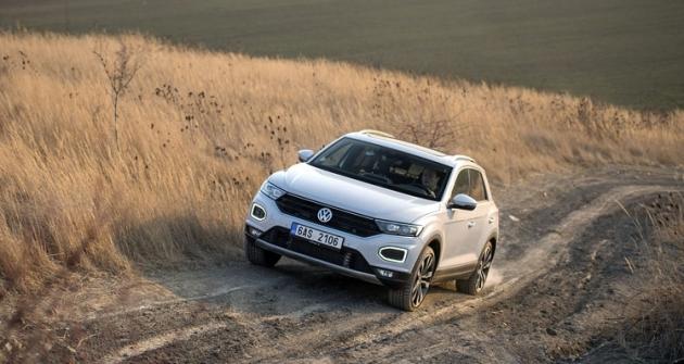 T-Roc je primárně určený na silnice, verze s pohonem všech kol má světlou výšku jen 158 mm