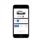 Základem systému je aplikace zobrazující základní informace o vozidle a umožňující obsluhu vybraných funkcí