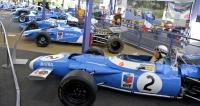 Matra MS 80 (1969, V8 Ford Cosworth DFV) č. 2, monopost, který dominoval MS F1 se šesti vítězstvími. Jackie Stewart se stal mistrem světa a Matra vítězem konstruktérů; za ním MS 120 (1970, V12 Matra) č. 03. Šasi trpělo malou tuhostí monokoku. Beltoise a Pescarolo vybojovali na MS 120 vseriálu Grand Prix 3x třetí místo
