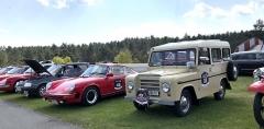 Mezi zúčastněnými vozy byla také unikátní Škoda Trekka továrního týmu mladoboleslavské automobilky