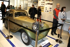 Hbité sportovní kupé MG Midget J2 ročníku 1933 s karoserií Uhlík