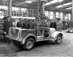 V prosinci 1943 byla vyrobena Tatra 57 K s pořadovým číslem 6000