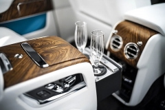 Luxus uvnitř Cullinanu může mít jakoukoliv podobu, kterou si zákazník přeje. Připraven je individualizační program Bespoke