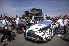 Lexus využil 24hodinový závod na Nürburgringu pro vývoj výkonnějšího provedení svého velkého kupé LC. Cílem bylo dojet asbírat data