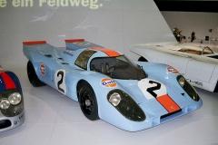 Porsche 917 britského týmu Gulf/John Wyer Automotive vyhrálo mnoho závodů, ale ve 24 h Le Mans nikdy nezvítězilo
