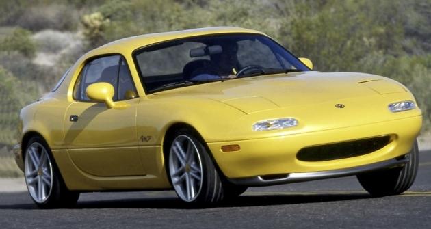 Kupé verze označovaná M Coupé z roku 1996 se představila na autosalonu v New Yorku abyla dílem kalifornského designérského studia Mazdy. Do výroby se nedostala