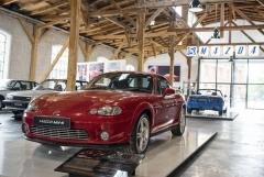 Jediné sériově vyráběné kupé vycházející z Mazdy MX-5. Zde vystavené v muzeu Mazda v Augsburgu