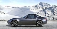 V současnosti má Mazda v nabídce verzi kupé s pevnou skládací střechou. Jmenuje se MX-5 RF