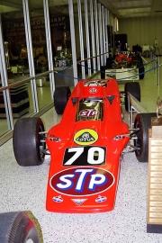 Turbínové Lotusy 56 bojovaly o prvenství vroce 1968, ale vyřadily je poruchy (Graham Hill devatenáctý s prasklým závěsem kola)