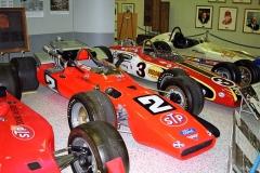 STP Hawk-Ford V8, s nímž Mario Andretti vyhrál v ročníku 1969 (byl to náhradní vůz, Lotusy 64 byly po problémech vtréninku staženy)
