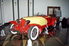 Cord L29 první generace s replikou karoserie z Pařížského autosalonu na originálním podvozku (1931)