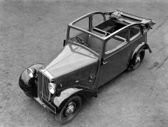 Unikát: užitkový polokabriolet Škoda Popular zhotovený v březnu 1934