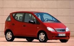 První generace třídy A vstoupila na trh v roce 1997...