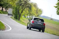 Fiat 500X je k dispozici nejen s pohonem předních kol, ale také ve verzích 4x4