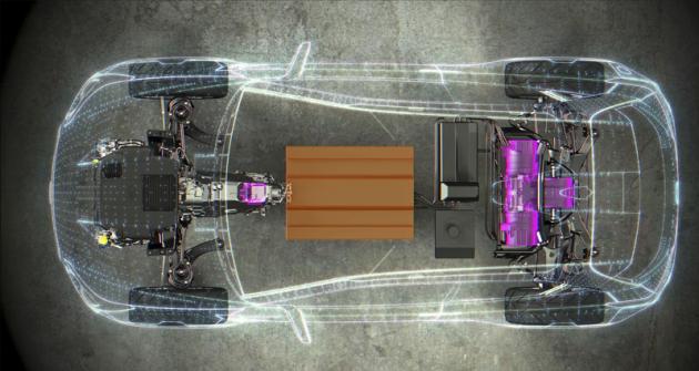 Koncept Viziv 2 (2014) s hybridní hnací soustavou typu XV Crosstrek (americké XV). Systém s podobnou koncepcí by měl obohatit nabídku iaktuální generace tohoto modelu