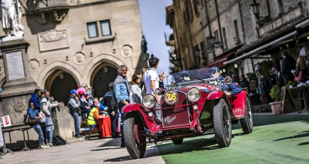 Letošní MM ovládla Alfa Romeo s jedním z nejúspěšnějších závodních strojů všech dob: modelem 6C
