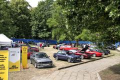BMW bylo zastoupeno klubem, jehož členové přivezli hlavně starší modely