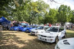 Subaru pojalo Legendy trochu jako vlastní sraz. Přizvalo například majitele modelů STI všech generací