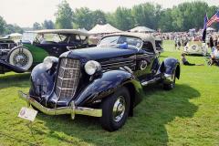 Auburn 851 Speedster model 1935, jedna ze šesti standardních karosářských variant