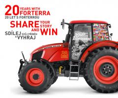 Řada traktorů Forterra slaví letos 20 let od uvedení na trh