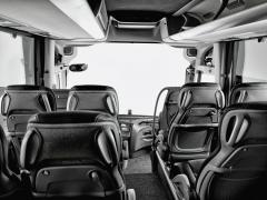 Interiér Volvo 9700