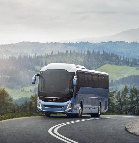 Nový autobus Volvo 9700