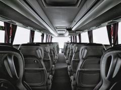Interiér Volvo 9900