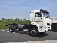Podvozek KAMAZ 43265 4X4 najde uplatnění ve smíšeném provozu silnice/šotolina