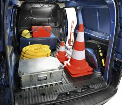 Kangoo Z.E. van má zcela rovnou podlahu nákladového prostoru