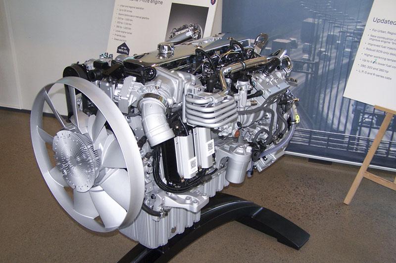 """Zcela nový """"malý"""" sedmilitrový motor Scania"""