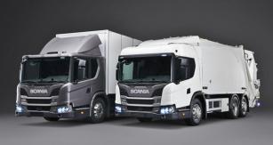 Scania L 2804x2 pro distribuci a L 320 6x2 svyšší střechou snástavbou pro svoz odpadu