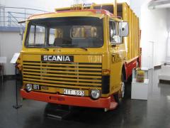 Jedna zprvních nízkých kabin byla uplatněna na Scanii LB 81 zroku 1980