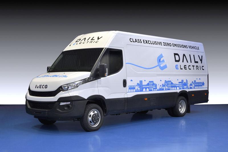 Lehký užitkový vůz Iveco Daily na elektrický pohon