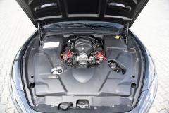 Osmiválec 4,7 l s výkonem 338 kW (460 k) je dnes v řadě GranTurismo standardem. Verze MC Stradale ale má automatizovanou přímo řazenou převodovku umístěnou vzadu