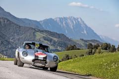 Odlehčený Jaguar E-Type vynikal dynamikou i velmi přitažlivým zvukovým projevem