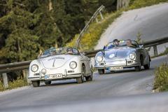 Porsche slaví 70 let a na Ennstal-Classic poslalo skupinu několika modelů řady 356