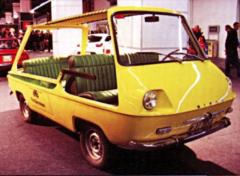 SIATA Española Patricia (1969) vznikla podle návrhu Michelottiho