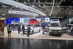 Volkswagen svůj stánek zaměřil na modely California a Grand California