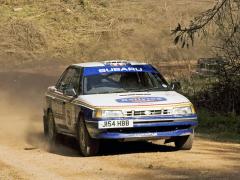 Soutěžní Subaru Legacy připravovala společnost Prodrive