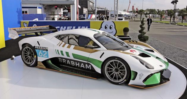 Jeden z prvních automobilů Brabham BT62 se představil v expozici Michelinu na letošních 24 h Le Mans