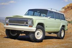 Jeep Wagoneer Roadtrip Concept, letošní pocta původnímu Wagoneeru, vyráběnému v letech 1962–1993