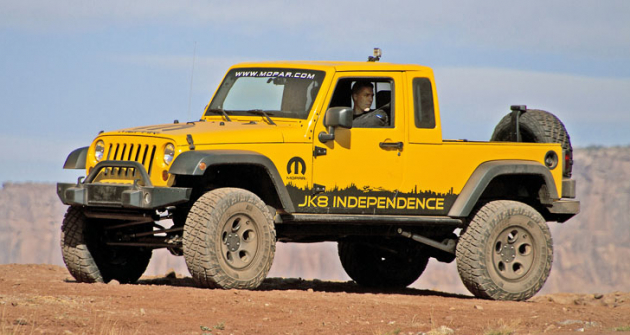 Jeep JK8 Wrangler Independence, koncept na základě silničního pikapu JK8 (2011)